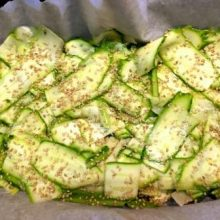 zucchine sesamo