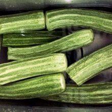 zucchine a bagno