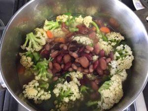 broccoli carote fagioli